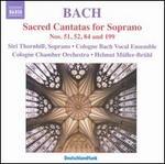 Johann Sebastian Bach: Sacred Cantatas for Soprano Nos. 51 52 84 & 199