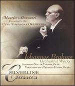 Johannes Brahms: Orchestral Works [DVD Audio]