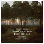 Johannes Brahms: Piano Quartet Op. 60; Piano Trio Op. 8