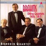 Johannes Brahms: String Quartets, Nos. 1 & 3