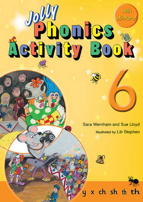 Jolly Phonics Activity Book 6: in Precursive Letters (BE) - Wernham, Sara, and Lloyd, Sue