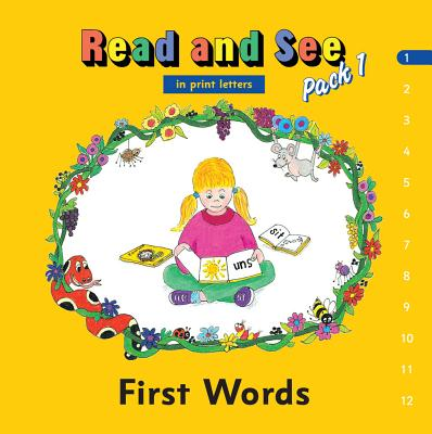 Jolly Phonics Read and See Pack 1 (in Print Letters) - Wernham, Sara