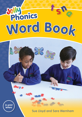 Jolly Phonics Word Book in Print Letters - Lloyd, Sue