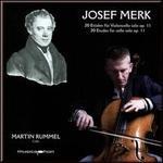 Josef Merk: 20 Etudes for cello solo, Op. 11