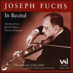 Joseph Fuchs in Recital