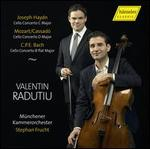 Joseph Haydn: Cello Concerto C major; Mozart/Cassadó: Cello Concerto D major; C.P.E. Bach: Cello Concerto B flat majo