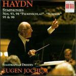 """Joseph Haydn: Sinfonien No. 93, 94 (""""Paukenschlag""""), 95, 98"""