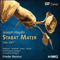 Joseph Haydn: Stabat Mater, Hob. XXbis - Colin Balzer (tenor); Marie Henriette Reinhold (alto); Sarah Wegener (soprano); Sebastian Noack (bass);...