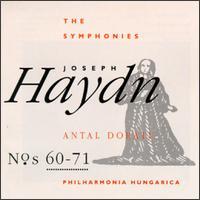 Joseph Haydn: Symphonies Nos. 60-71 - Philharmonia Hungarica; Antal Doráti (conductor)