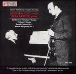 Joseph Szigeti & Bela Bartok Perform Bartok, Debussy, Beethoven