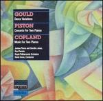 Joshua Pierce & Dorothy Jonas Play Gould, Piston & Copland