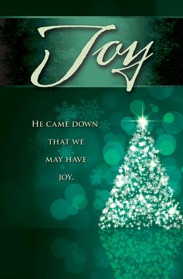 Joy Tree Advent Bulletin (Pkg of 50) -