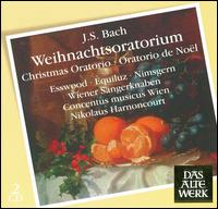 JS Bach: Weihnachtsoratorium - Concentus Musicus Wien; Kurt Equiluz (tenor); Paul Esswood (alto); Siegmund Nimsgern (bass);...