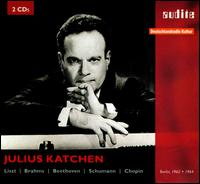 Julius Katchen Plays Liszt, Brahms, Beethoven, Schumann, Chopin - Julius Katchen (piano)