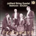 Julliard String Quartet Plays Beethoven, Schubert