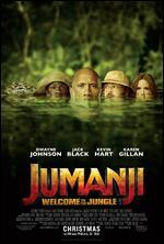 Jumanji: Welcome to the Jungle [Includes Digital Copy] [4K Ultra HD Blu-ray/Blu-ray]