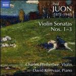 Juon: Violin Sonatas Nos. 1-3