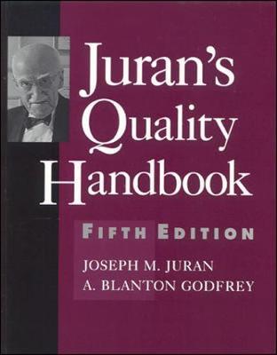 Juran's Quality Handbook - Juran, Joseph M, and Godfrey, A Blanton, and Juran Joseph