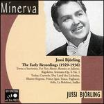 Jussi Bj�rling Early Recordings 1929 - 36