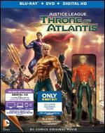 Justice League: Throne of Atlantis [Figurine] [Blu-ray/DVD] [Only @ Best Buy]