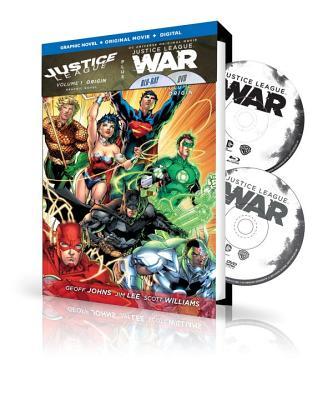 Justice League, Volume 1: Origin Book and DVD Set - Johns, Geoff