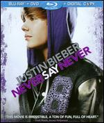 Justin Bieber: Never Say Never [2 Discs] [Includes Digital Copy] [Blu-ray/DVD]