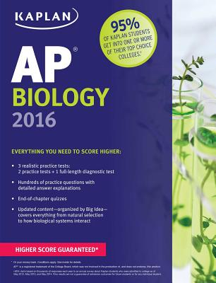 Kaplan AP Biology 2016 - Stabler, Linda Brooke, and Metz, Mark, and Wilkes, Allison