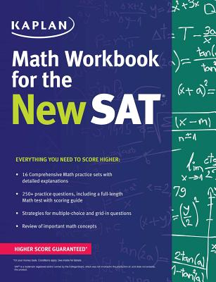 Kaplan Math Workbook for the New SAT - Kaplan Test Prep