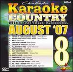 Karaoke: August 2007 Country Hits