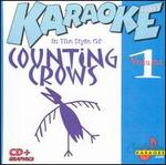 Karaoke: In the Style of Counting Crows, Vol. 1