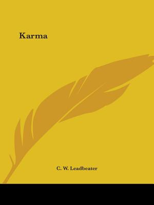 Karma - Leadbeater, C W