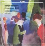 Karol Rathaus: Symphonies 2 & 3