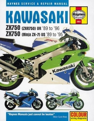 Kawasaki ZX750 Fours Service and Repair Manual -