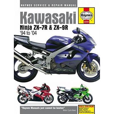 Kawasaki ZX7R Ninja Motorcycle Service and Repair Manual -
