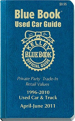 Kelley Blue Book Used Car Guide 1996-2010 Models: Consumer Edition: April-June - DeBacker, Patricia A (Editor)
