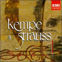 Kempe conducts Richard Strauss, Vol. 1 - Malcolm Frager (piano); Manfred Clement (oboe); Manfred Weise (clarinet); Peter Damm (horn); Peter Mirring (violin);...