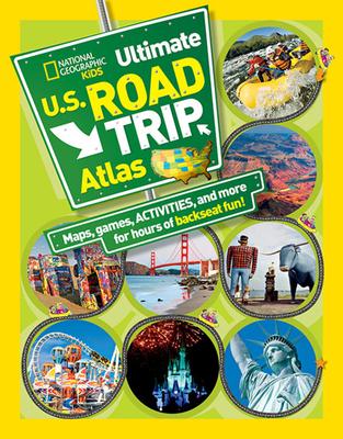 Kids Ultimate Road Atlas: Guide Book - Boyer, Crispin