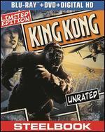 King Kong [2 Discs] [Includes Digital Copy] [SteelBook] [Blu-ray/DVD]