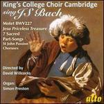 King's College Choir Cambridge Sings J.S. Bach