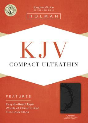 KJV Compact Ultrathin Bible, Purple LeatherTouch - Broadman & Holman Publishers (Creator)