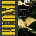 Klami: Symphony No. 1; King Lear Overture