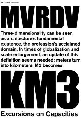 Km3-Excursions on Capacities - Mvrdv