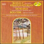 Kodaly: Intermezzo; Khatchaturian: Trio; Bolcom: Afternoon Cakewalk