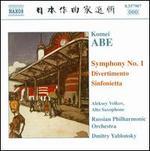 Komei Abe: Symphony No. 1; Divertimento; Sinfonietta