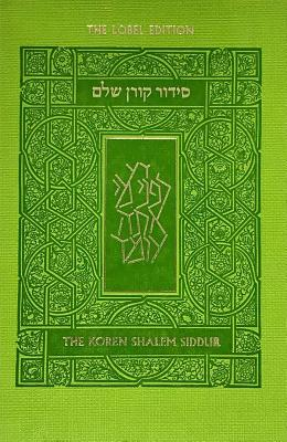 Koren Shalem Siddur with Tabs, Compact, Green - Sacks, Jonathan (Translated by), and Koren Publishers
