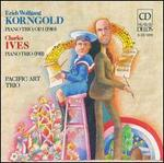 Korngold: Piano Trio Op. 1; Ives: Piano Trio