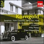 Korngold: Symphony; Violin Concerto; Piano Trio; Arias