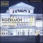 Kozeluch: Complete Keyboard Sonatas, Vol. 11