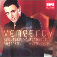 Kreisler, Sarasate, Paganini, Wieniawski - Ian Brown (piano); Maxim Vengerov (violin)