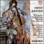Krenek: Complete Works for Cello